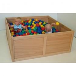 Dřevěný bazén čtvercový
