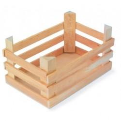 Velké dřevěné bedýnky 3ks/sada