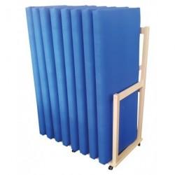 Dřevěný stojan na matrace bukový