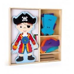 Oblékání Piráta