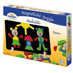 Medvědi magnetické puzzle