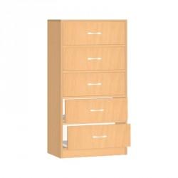 Safety skříňka se zásuvkami - 60x121x45 cm