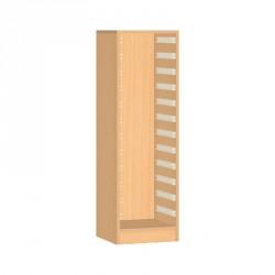 Skříňka na plastové boxy - 36x121 cm