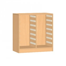 Skříňka na plastové boxy - 71x76 cm