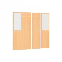 Věšáková stěna se zrcadlem - 100x187 cm