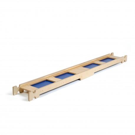 Balanční lavička kaluže