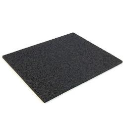 Ochranná černá podložka 60x60x1,5cm