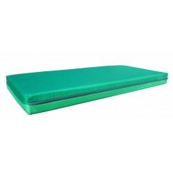 Odpočinková matrace molitanová zelená, 50x120x10 cm