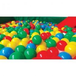 Pytel plastových míčků 8 cm průměr, 500 ks