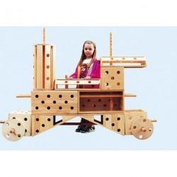 Polikarpova stavebnice lakovaná - kolo