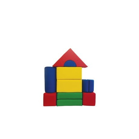 11-dílná molitanová stavebnice