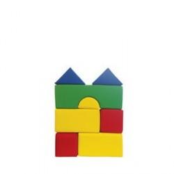 8-dílná molitanová stavebnice