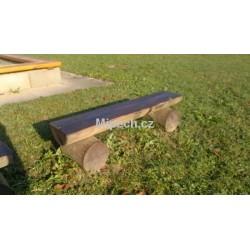 Lavička jednoduchá nízká, délka 1 m, výška 0,25 m