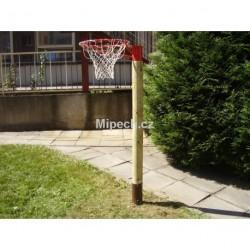 Korfbalový koš, výška dle věkové kategorie max. 2,4 m