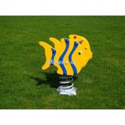 Houpadlo na pružině MP - ryby modré