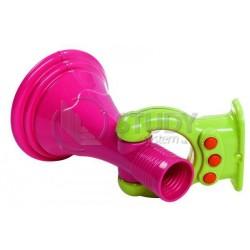 Megafon - barva růžová / zelená limetka