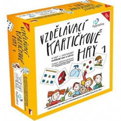 Vzdělávací kartičkové hry 1 - Pomůcka (Doporučujeme)