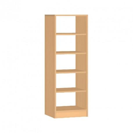 Skříňka s policemi oboustranná - 40x121x45 cm