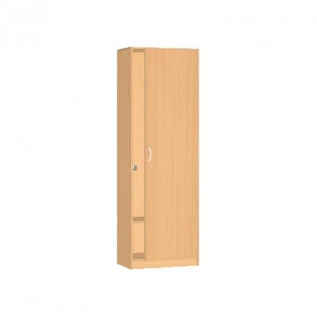Safety skříň šatní se zámkem - 60x187x60 cm