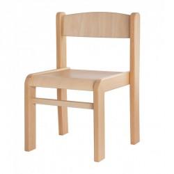 Česká židle s trnoží stohovatelná