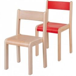 Česká židle stohovatelná v. 18 cm
