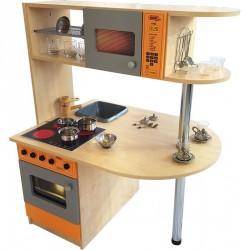 Oboustranná kuchyň MAKRA - 102x125x74 cm