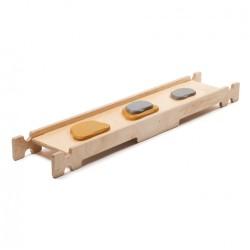 Balanční lavička S kameny