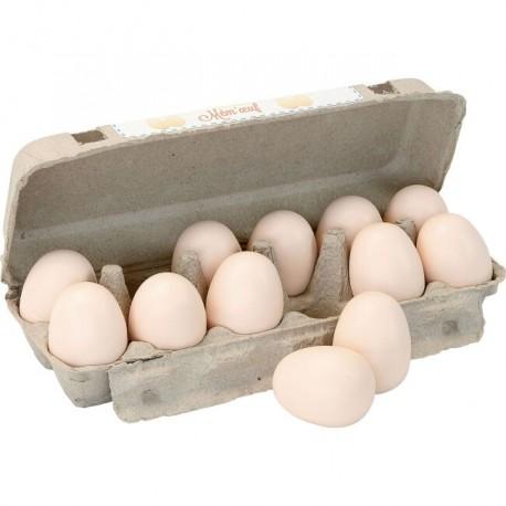 Dřevěné zvukové vejce