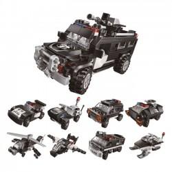 Qman Komplet 8v1 Superobrněné vozidlo 198 dílů