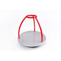 Kolotoč - tříramenný oblouk s kruhem