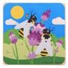 Vrstvené puzzle vývoj Včela
